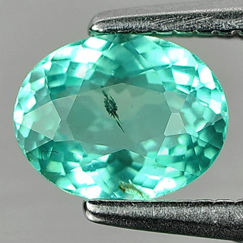 0.68 Ct. Oval Shape Natural Gem Paraiba Color Apatite Unheated