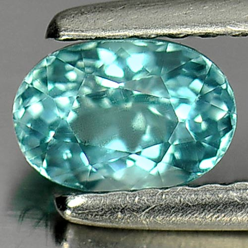 0.71 Ct. Beautiful Gem Natural Paraiba Color Apatite Oval Shape