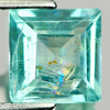 1.27 Ct. Square Natural Paraiba Color Apatite Tanzania