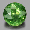 0.75 Ct. Natural Gemstone Green Apatite Round Shape Tanzania