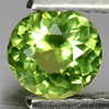 0.59 Ct. Natural Gemstone Yellowish Green Apatite Round Shape