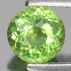 0.81 Ct. Calibrate Size Round Natural Gem Green Apatite Unheated