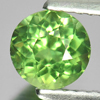 0.88 Ct. Good Round Natural Gem Green Apatite From Tanzania