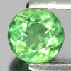 0.85 Ct. Delightful Round Natural Gem Green Apatite From Tanzania