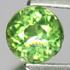 0.86 Ct. Beautiful Round Natural Gem Green Apatite From Tanzania