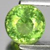 0.93 Ct. Round Natural Gemstone Green Apatite Size 6 x 6 x 4 Mm.