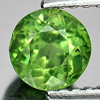 0.82 Ct. Round Shape Natural Gem Green Apatite Unheated