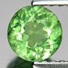 0.64 Ct. Good Round Natural Gem Green Apatite From Tanzania