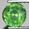 0.77 Ct. Beautiful Round Shape Natural Gem Green Apatite Unheated