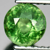0.75 Ct. Good Color Round Natural Gem Green Apatite Unheated
