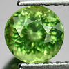 0.81 Ct. Beauteous Round Shape Natural Gem Green Apatite Unheated