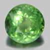 0.81 Ct. Round Natural Gem Unheated Green Apatite From Tanzania