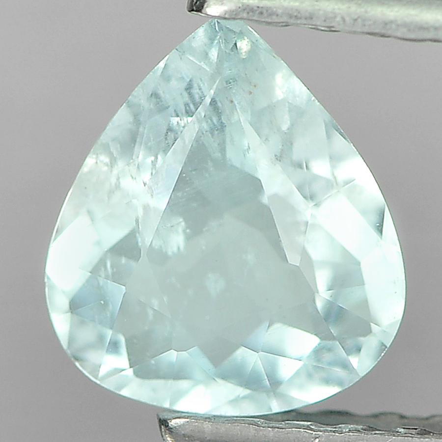 0.53 Ct. Stunning Natural Sky Blue Aquamarine Unheated