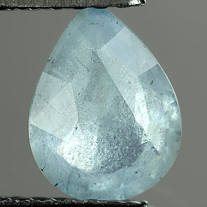 0.87 Ct. Lively Natural Light Blue Aquamarine Unheated
