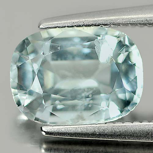 1.85 Ct. Cushion Natural Light Blue Aqumarine Brazil