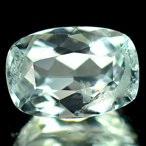 1.53 Ct. Natural Light Blue Aquamarine Gemstone Cushion Shape