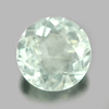 1.32 Ct. Good Round Shape Natural Gem Light Blue Aquamarine Brazil