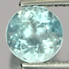 0.79 Ct. Nice Cutting Round Shape Natural Gem Light Blue Aquamarine Brazil