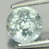 0.88 Ct. Charming Round Natural Gem Light Blue Aquamarine Brazil