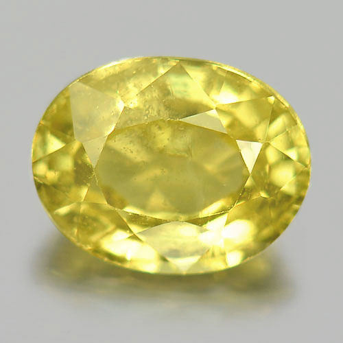 Unheated Gemstone 1.11 Ct. Oval Shape Natural Yellow Chrysoberyl From Madagascar