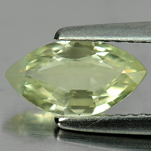 Unheated 1.15 Ct. Marquise Shape Natural Yellowish Green Chrysoberyl Madagascar
