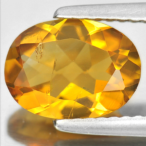 1.72 Ct. Charming Gem Natural Yellow Citrine Oval Shape Brazil
