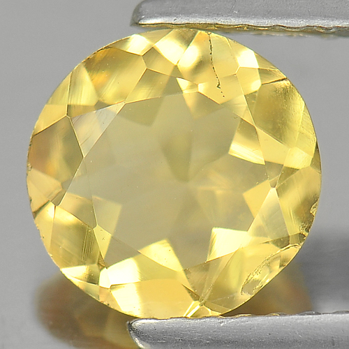 1.20 Ct. Nice Round Natural Gem Yellow Citrine Unheated
