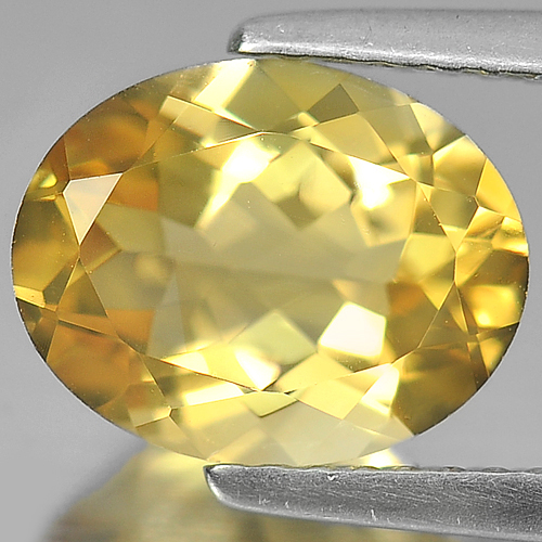 2.17 Ct. Oval Shape Natural Gem Yellow Citrine Unheated Brazil