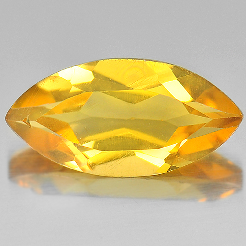 2.34 Ct. Good Color Round Shape Natural Yellow Citrine Gemstone Brazil