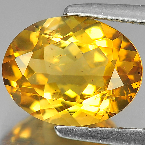 2.29 Ct. Nice Color Oval Shape Natural Gem Yellow Citrine Unheated Brazil