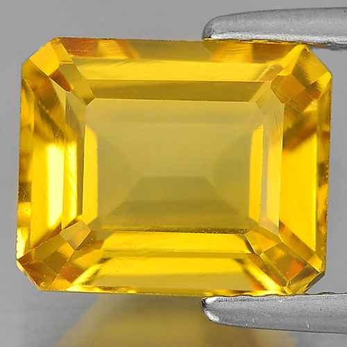 3.11 Ct. Beauteous Octagon Shape Natural Yellow Citrine From Brazil Unheated