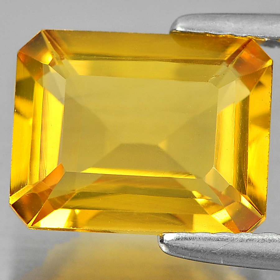 2.71 Ct. Octagon Shape Natural Yellow Citrine From Brazil Unheated
