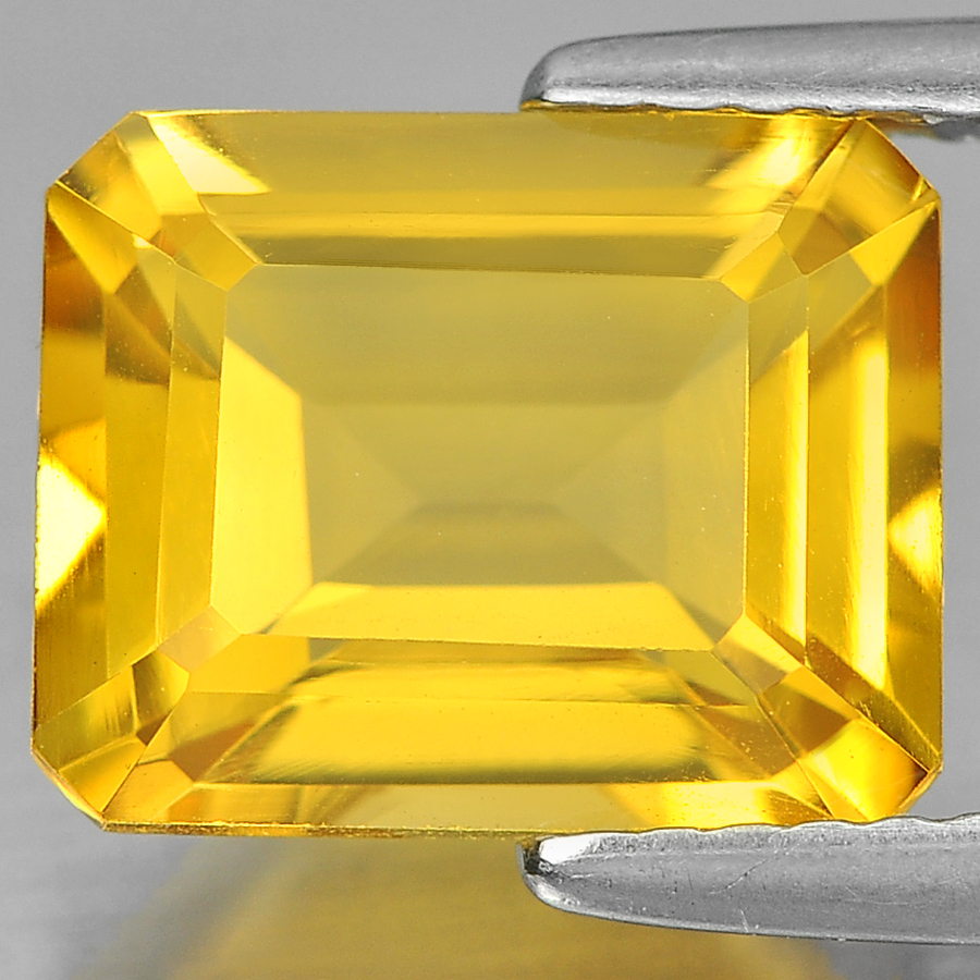 Unheated 3.19 Ct. Charming Octagon Shape Natural Yellow Citrine From Brazil
