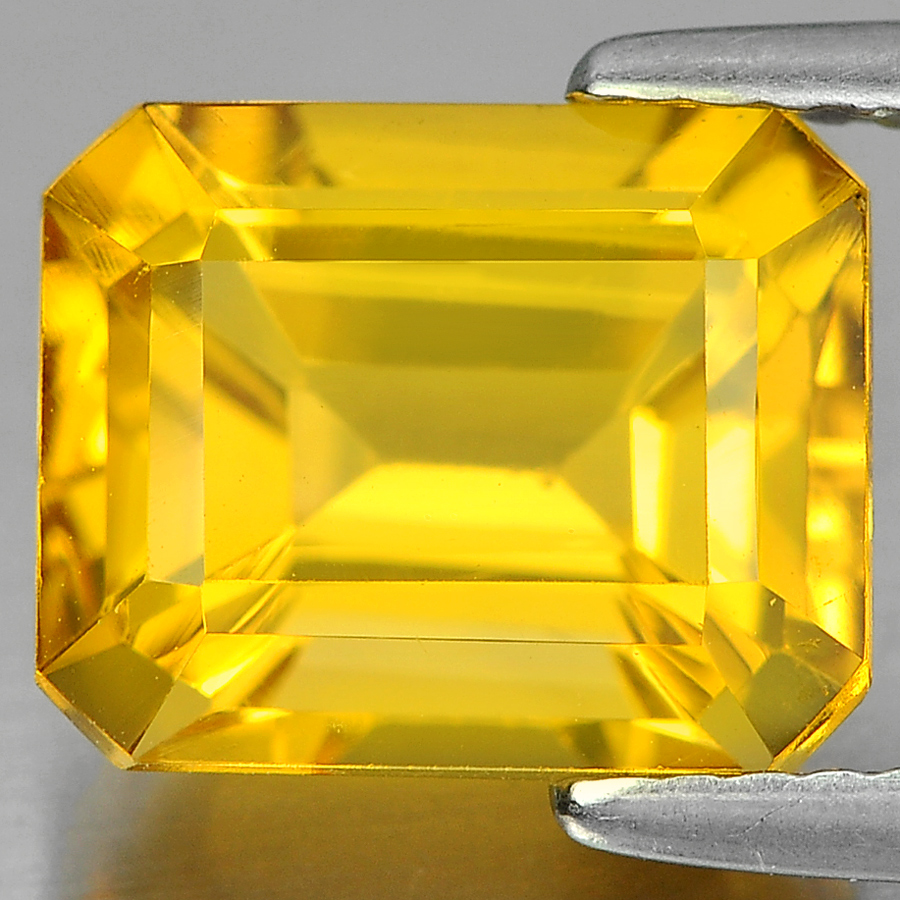 3.28 Ct. Alluring Octagon Shape Natural Gem Yellow Citrine Unheated