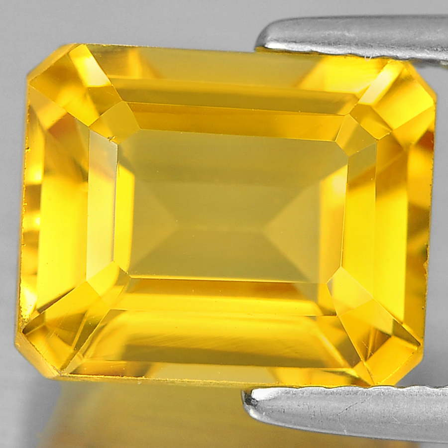 3.45 Ct. Charming Octagon Shape Natural Gem Yellow Citrine Unheated