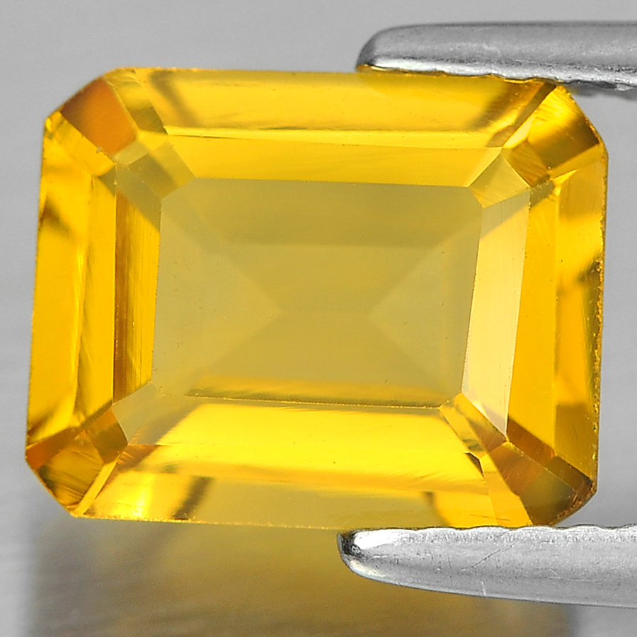 Unheated 2.42 Ct. Charming Octagon Shape Natural Gem Yellow Citrine From Brazil