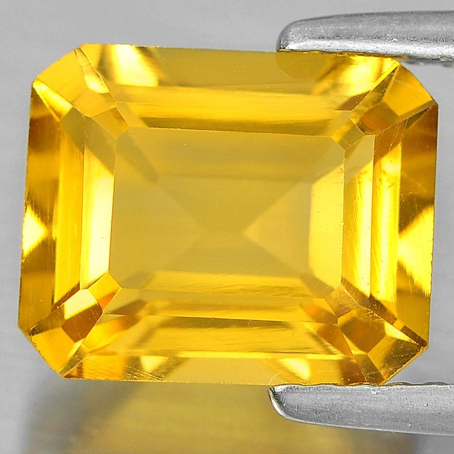 2.81 Ct. Alluring Octagon Shape Natural Gem Yellow Citrine Unheated