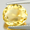 2.42 Ct. Oval Shape Natural Yellow Citrine Gemstone