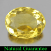 2.65 Ct. Good Oval Shape Natural Yellow Citrine Gem Unheated
