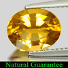 2.29 Ct. Natural Yellow Gold Citrine Oval Shape Gemstone Unheated