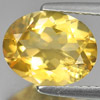 2.16 Ct. Oval Shape Natural Gem Yellow Citrine Unheated Brazil