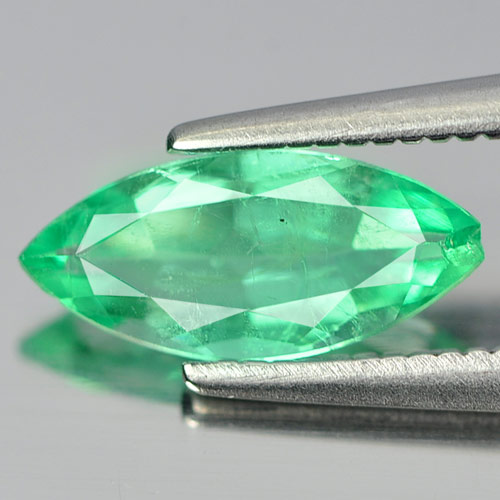 0.74 Ct. Marquise Natural Gemstone Rich Green Emerald Unheated