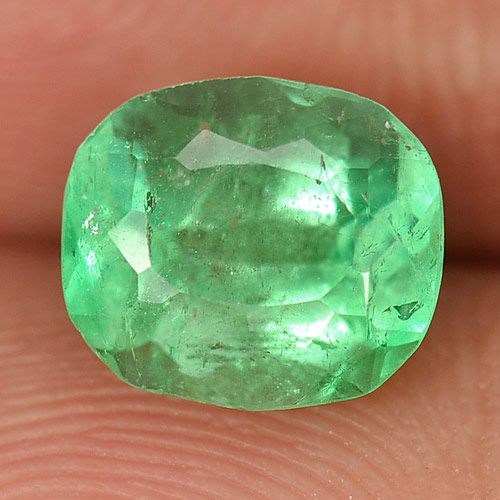 1.53 Ct. Natural Gemstone Green Emerald From Columbia