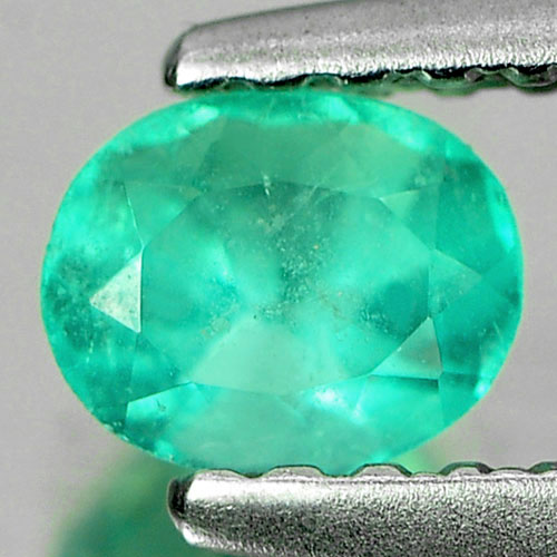 0.38 Ct. Ravishing Natural Gemstone Green Emerald Oval Cut Unheated