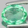 0.52 Ct. Oval Shape Natural Gem Green Emerald From Columbia