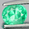 0.39 Ct. Oval Shape Natural Gemstone Green Emerald Unheated