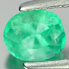 0.45 Ct. Oval Shape Natural Gemstone Green Emerald Unheated