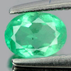 0.40 Ct. Attractive Oval Natural Gemstone Green Emerald Unheated