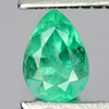 0.22 Ct. Pear Shape Natural Gemstone Green Emerald Unheated