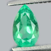 0.32 Ct. Pear Shape Natural Gem Green Emerald Unheated